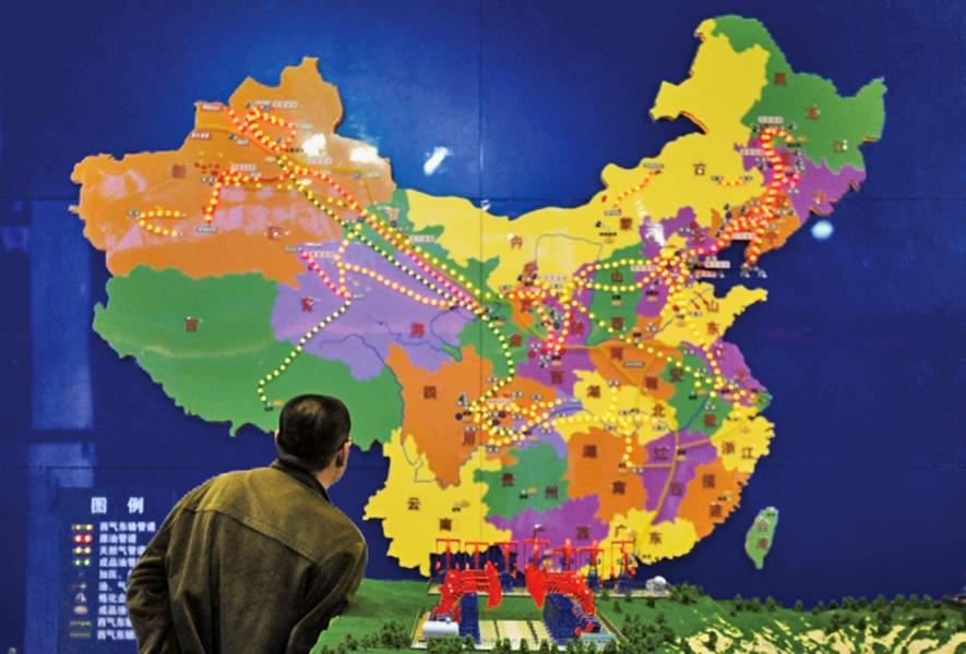 審查難過 書商避放中國地圖