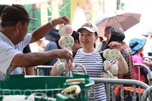 長洲太平清醮平安包大受歡迎 逾二萬個全派光