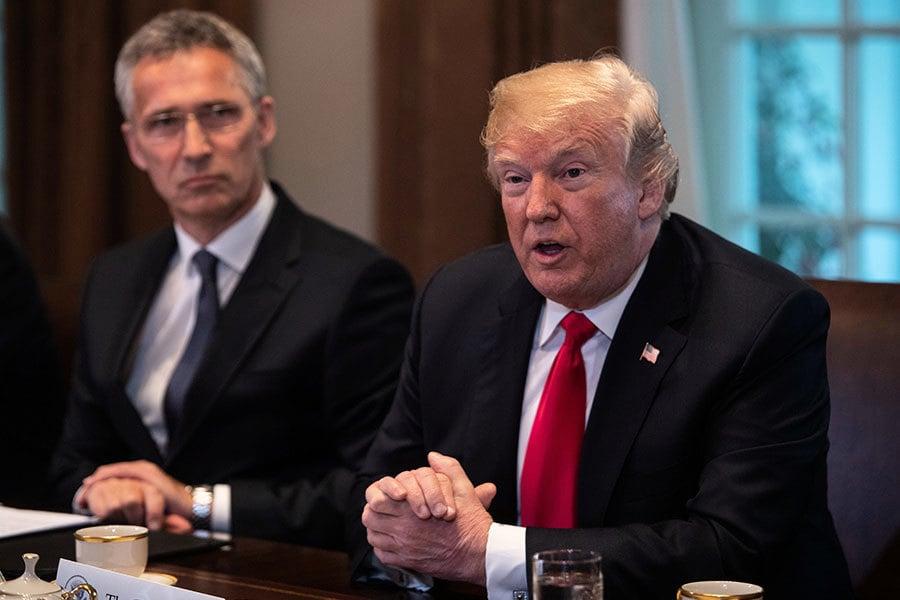 特朗普透露過問中興禁令和中美貿易談判內幕