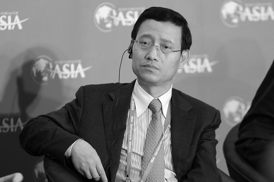 5月24日,中國人保集團前黨委副書記、總裁王銀成被判刑11年。(大紀元資料室)