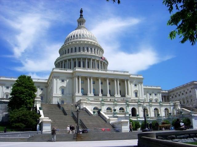 美國聯邦眾議院24日上午以351票贊成、66票反對,通過2019財政年度國防授權法。法案要求強化台灣軍事實力,並呼籲依循台灣關係法。(AFP)
