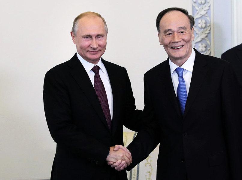 分析:王岐山訪問俄羅斯的目的