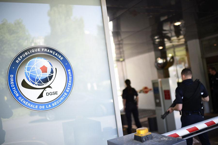 法國拘捕了兩名涉嫌為中共擔任間諜的前法國對外安全局(DGSE)人員。(MARTIN BUREAU/AFP/Getty Images)