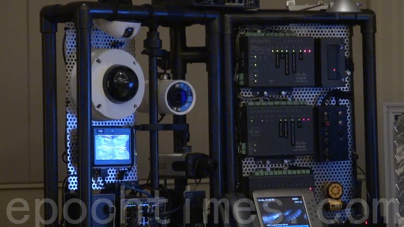 美國眾議院周四(5月24日)通過的7,170億美元《國防授權法》中,包含禁止美國政府購買中國產監控攝像頭等產品,這是美國會基於國家安全考慮,對中國科技產品的最新動作。圖為中國產攝像頭監控設備。(薛文/大紀元)