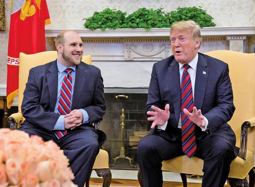 被囚兩年美國人質從委內瑞拉獲釋 特朗普當晚白宮親自接見