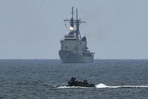 拒中共參與軍演後 美兩軍艦駛入西沙群島