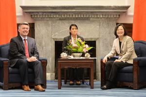 蔡英文:中共正改變兩岸和平穩定現狀
