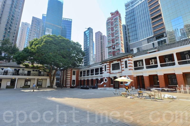 活化後的舊中區警署建築群,今日起開放予公眾參觀。(宋碧龍/大紀元)