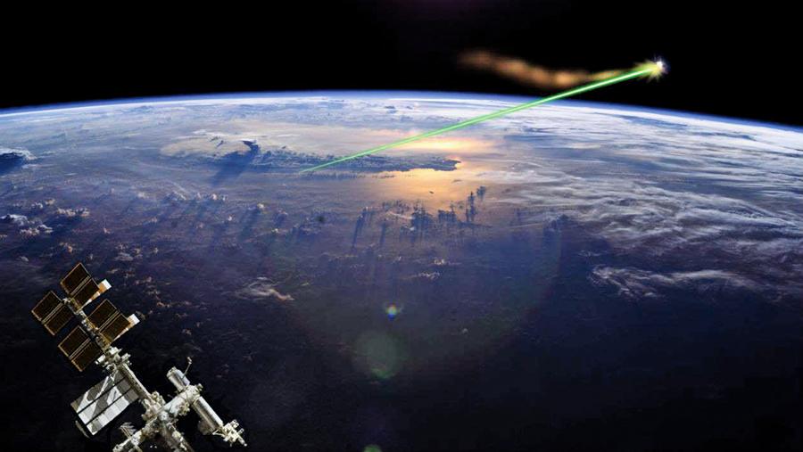 國際空間站將用激光擊落太空垃圾