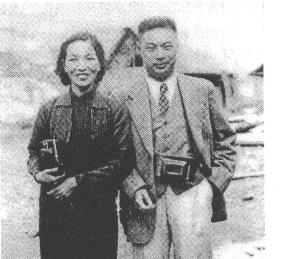 趙敏恒是民國時期的著名記者。圖為趙敏恒與夫人謝蘭郁。(公有領域)