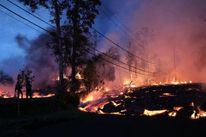 夏威夷火山熔岩四處奔流 更多居民撤離