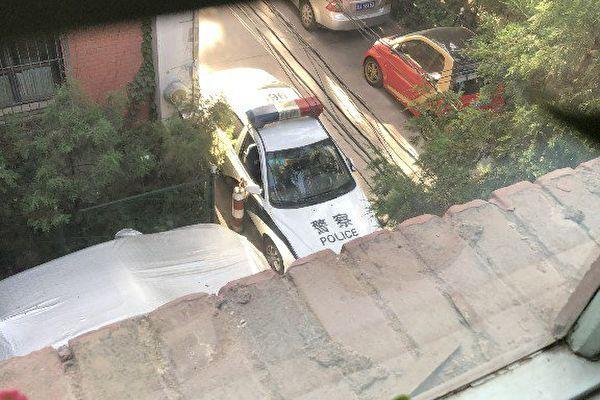 六四將近,中共當局已經開始對北京維權人士進行嚴密監控。(caichu推特圖片)