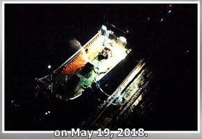 日本發現疑似中朝船隻在海上交易