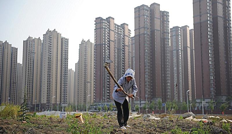 大陸多市土地市場瘋漲