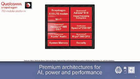 高通驍龍710 行動平台登場 強化人工智能