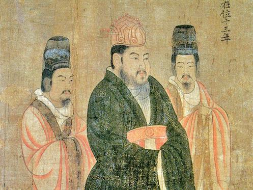 隋煬帝楊廣。(公有領域)