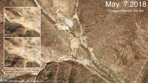 銷毀豐溪里核試驗場前 疑北韓已動手腳