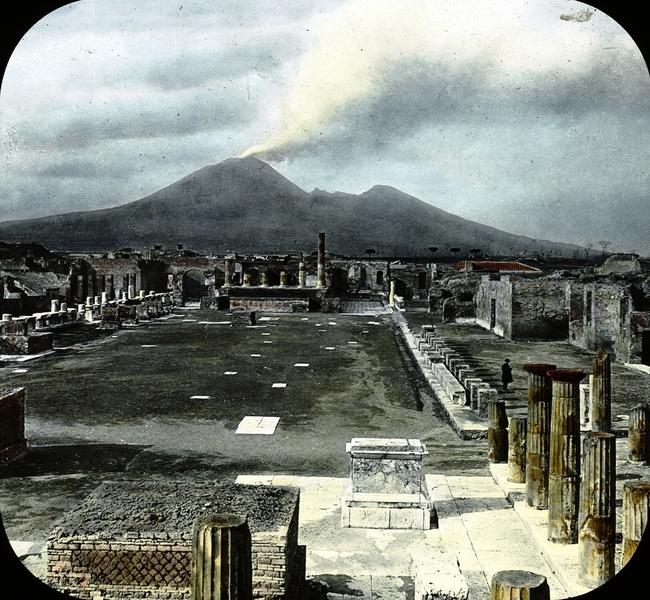 震撼骸骨出土 揭龐貝古城遭火山毀滅歷史