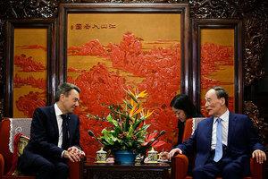 王岐山晤國際紅十字會主席 李源潮又丟一職?