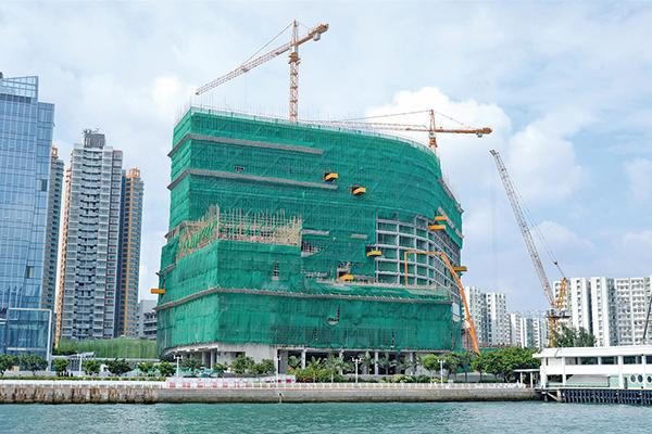 香港樓價再創新高(大紀元圖片庫)