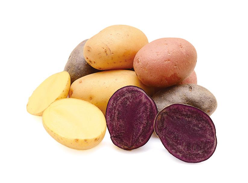飲食中常見的薯仔,其紫色品種比白色品種含有更多的多酚(polyphenols),更有利於穩定血糖,進而降低患心血管疾病以及糖尿病的風險。