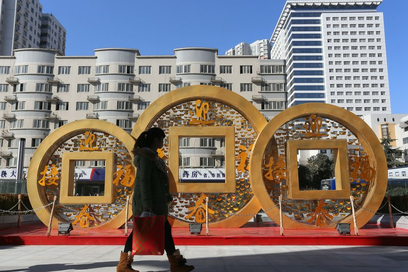 國際三大信評機構之一標準普爾(Standard & Poor's)去年11月19日表示,半數中國省級政府屬於「垃圾」級別。(ChinaFotoPress/ChinaFotoPress via Getty Images)