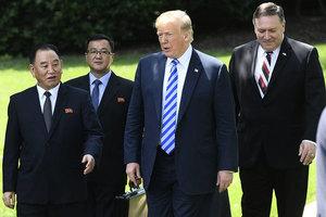 北韓棄核後誰負責賠償? 特朗普這樣回答