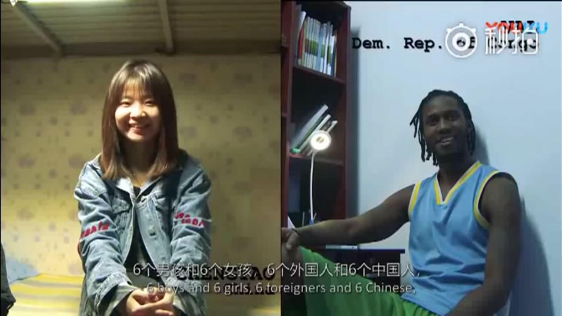 拍攝者在中國西部的蘭州和東部的北京,採訪了來自兩所大學的12名學生。調查結果令拍攝者感到非常驚訝。(視像擷圖)