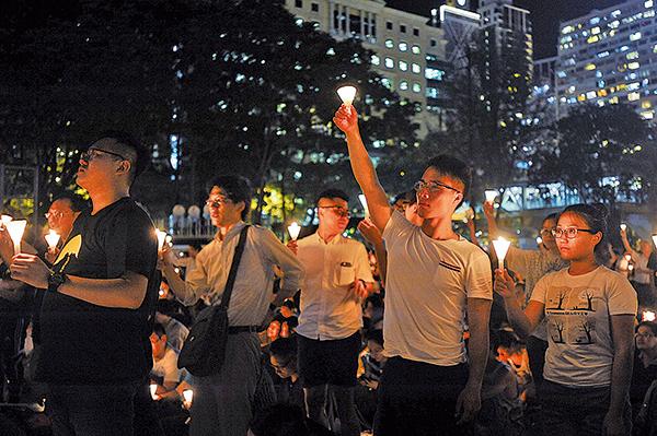 「六四晚會是香港人的堅持」