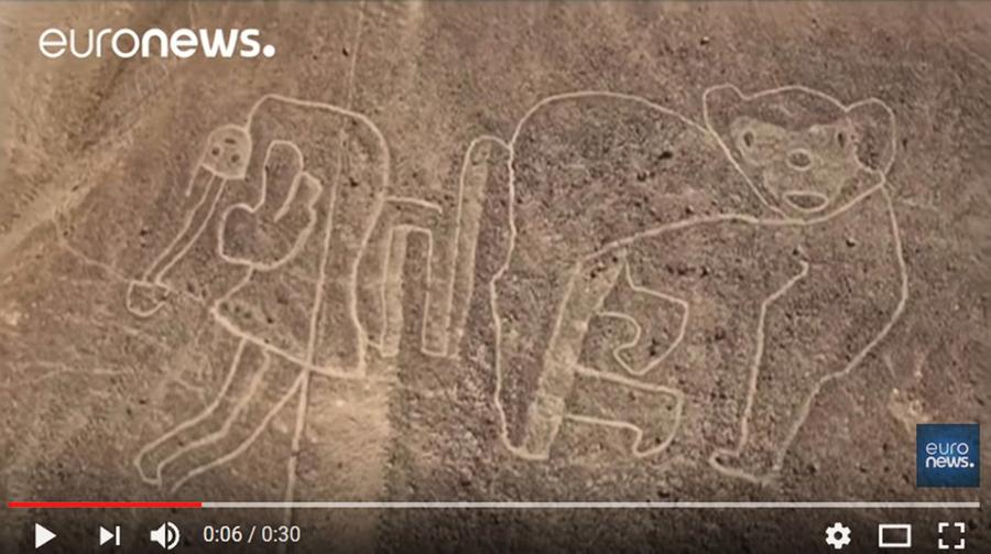 考古學謎團 秘魯又現2千年前地畫