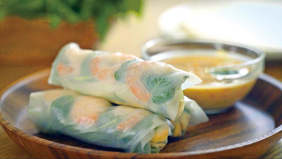 清爽美味越南春捲