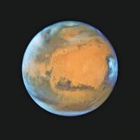 火星近地球照片清晰可見
