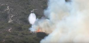 南加州爆發火災 二千住戶緊急撤離