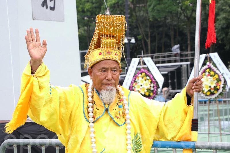 北京洪先生。(蔡雯文/大紀元)