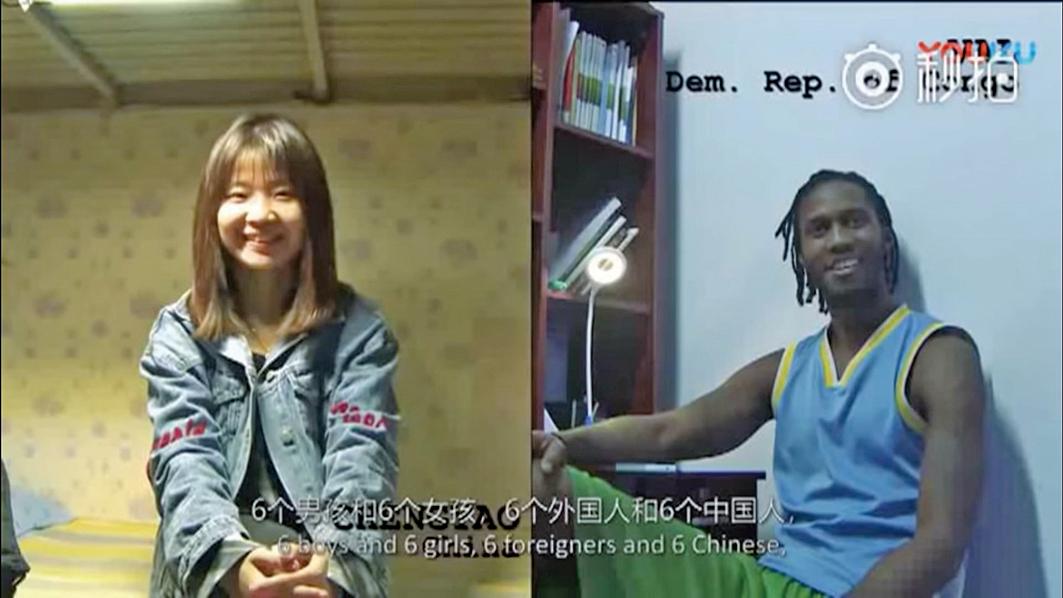 █紀錄片拍攝者在中國西部的蘭州和東部的北京,採訪了來自兩所大學的12名學生。調查結果令拍攝者感到非常驚訝。(影片截圖)