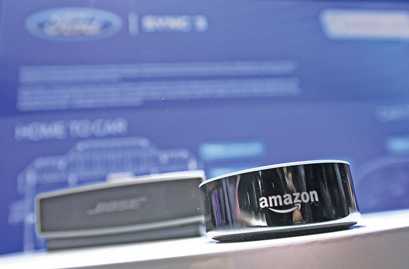亞馬遜Echo系列產品是最早的智能音箱產品。(David Becker/Getty Images)