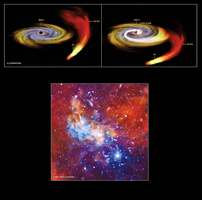 NASA:銀河系中心有上萬黑洞