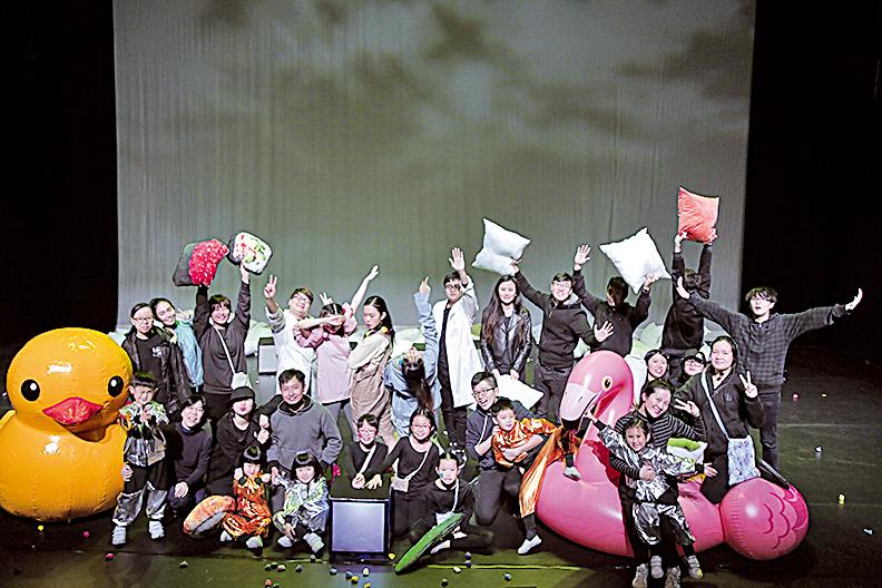 2018《閃閃閃── be YOURSELF》 兒童互動音樂劇演出。
