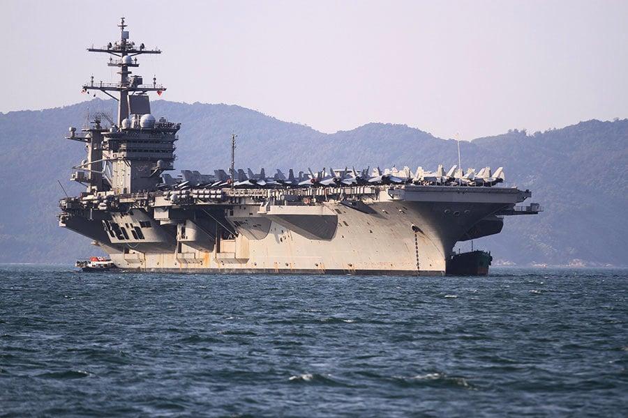 傳美國擬派軍艦駛經台灣海峽