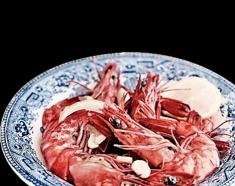 【地中海美味廚房】蒜香檸檬大蝦