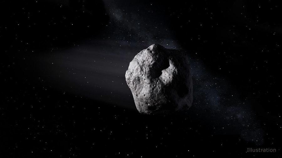 小行星直衝地球 墜地前八小時NASA才發現