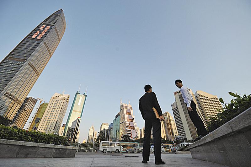 深圳樓市經歷了2015年的暴漲後,進入2016年仍不斷刷新紀錄。(AFP)