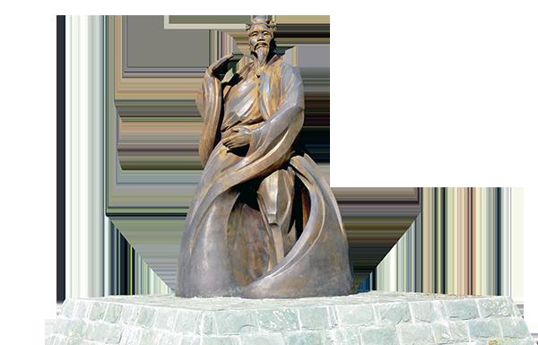 武當山逍遙谷太極張三丰塑像(公有領域)