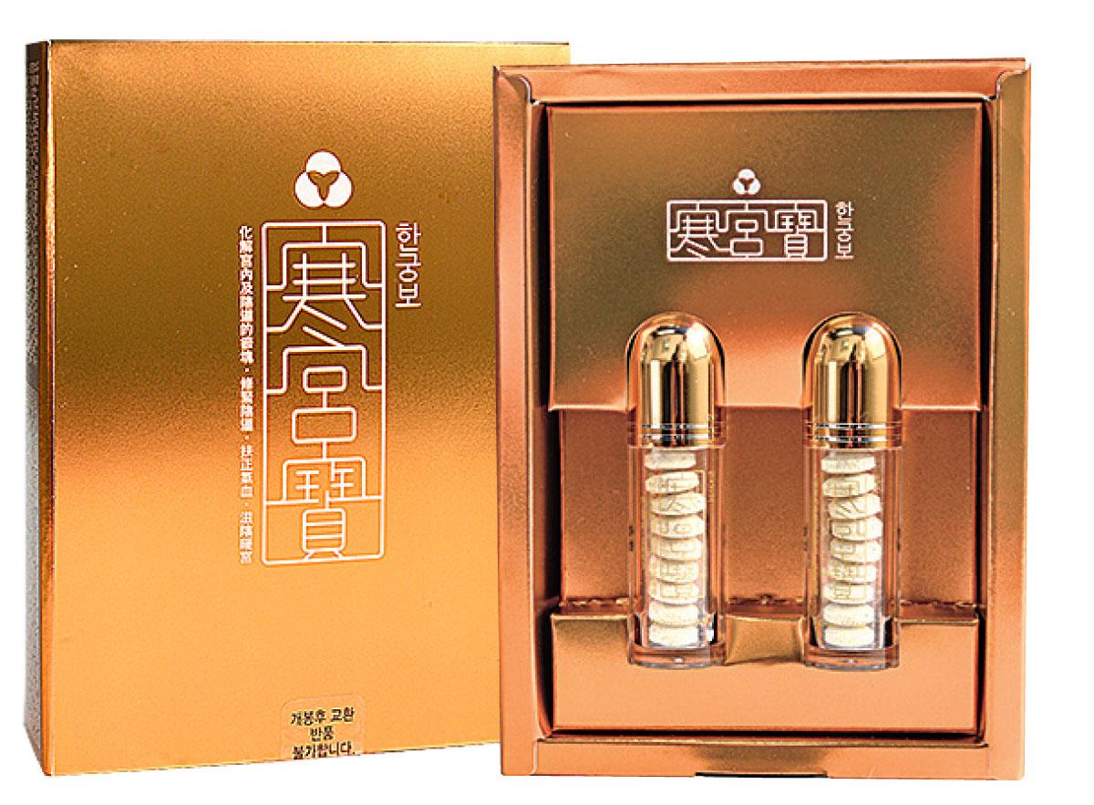 南韓暢銷產品之一的「寒宮寶」已登陸香港大型連鎖店。