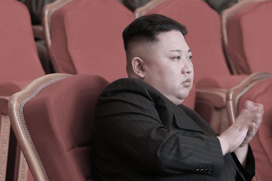 特金會倒計時之際,有媒體爆出金正恩擔心像他的哥哥金正男一樣遭化武暗殺。圖為朝鮮領導人金正恩。(STR/AFP/Getty Images)