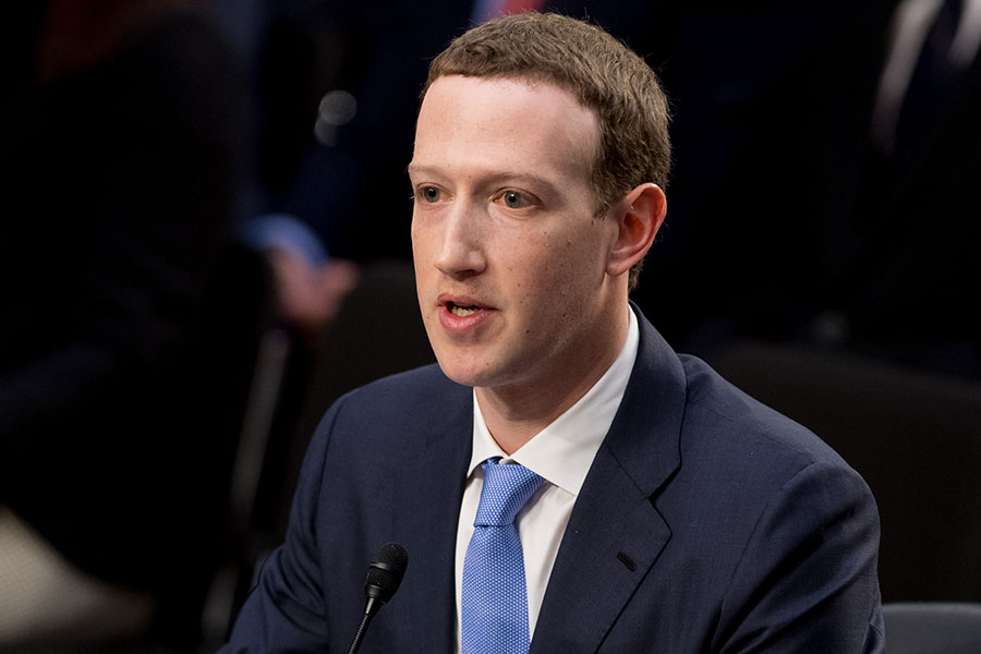 Facebook總裁朱克伯格(Mark Zuckerberg)。(AFP/Getty Images)