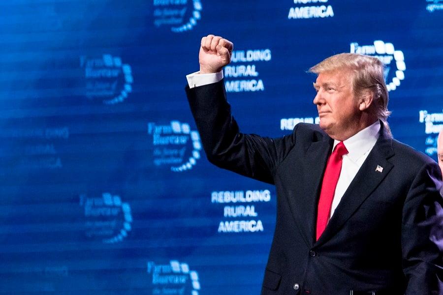 特朗普7月1日接受霍士新聞專訪時表示,他跟金正恩達成無核化協議,不排除金正恩有可能食言。(Samira Bouaou/大紀元)