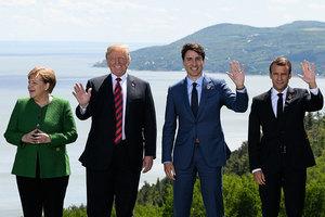 特朗普抵加出席G7峰會 聚焦不公平貿易問題