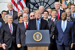 廢奧巴馬時代監管 特朗普創美國經濟奇蹟