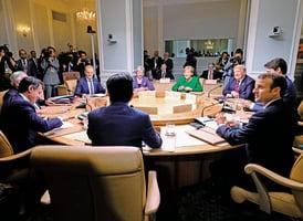 化解G7貿易摩擦 英首相促加大對中共施壓